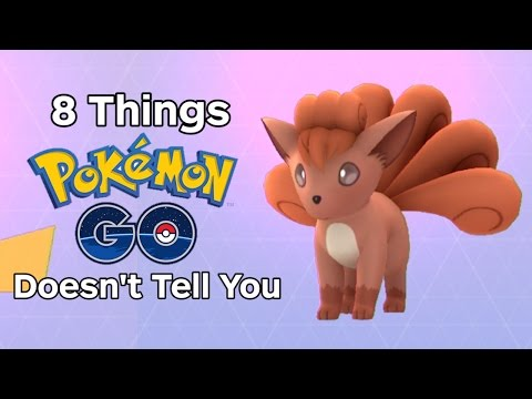 8 Things Pokemon Go Doesn't Tell You - UCKy1dAqELo0zrOtPkf0eTMw