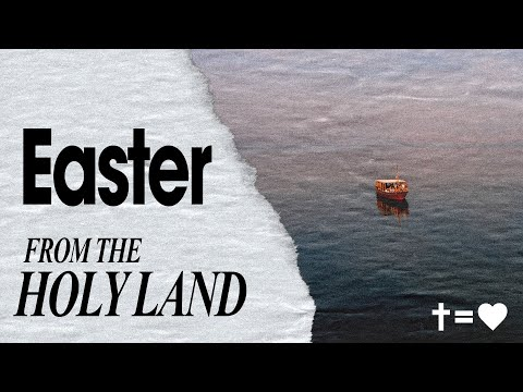 Easter from the Holy Land  Brian Houston  Hillsong Church Online