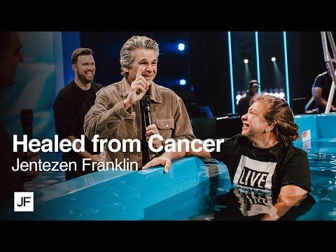Completely Healed from Cancer  Jentezen Franklin