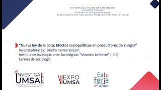 Ley de la coca y sus efectos en Yungas - Sandra Ramos Salazar