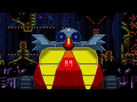 Unused Sonic Cd's Final Boss battle : sprite animation - default
