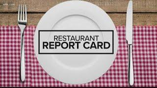Restaurant Report Card: August 22, 2019