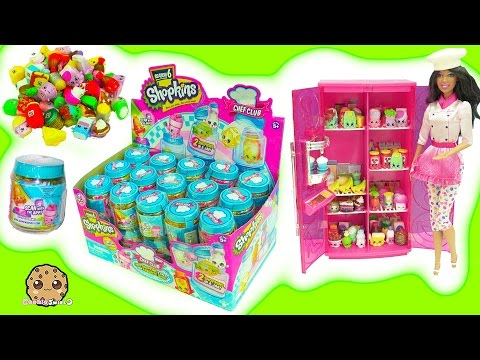 Full Box of 60 Season 6 Chef Club Shopkins Surprise Blind Bag Jars In Barbie Doll Refrigerator - UCelMeixAOTs2OQAAi9wU8-g