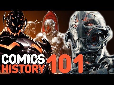 Ultron - Comics History 101 - UCKy1dAqELo0zrOtPkf0eTMw
