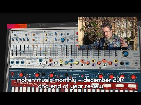 Molten Music Monthly - Dec 2017 and end of year review - UCzLl8NF-hiP2HMq5dL2NQOQ