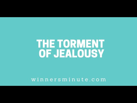The Torment of Jealousy // The Winner's Minute With Mac Hammond
