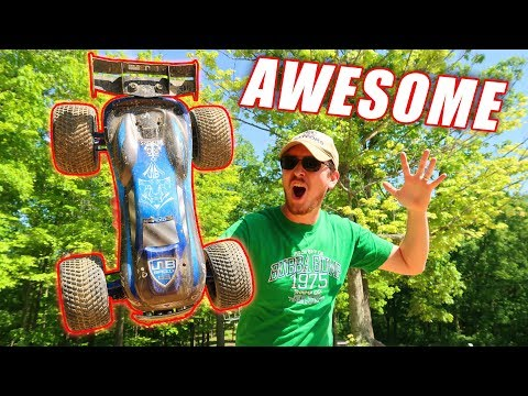EPIC FAST BASH and CRASH!!! - RC Car Goes BEAST Mode!! - TheRcSaylors