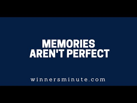 Memories Aren't Perfect  The Winner's Minute With Mac Hammond