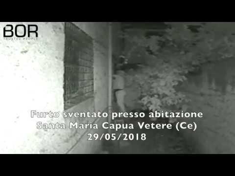Furto sventato presso abitazione a Santa Maria Capua Vetere