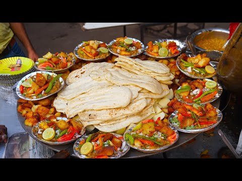 Best Street Foods in Delhi | Satisfying Video | Best Indian Street Food - UCngpdIYbl5REio0EaQjlHSA