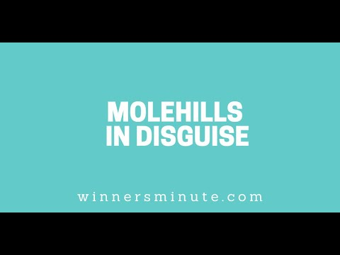 Molehills in Disguise // The Winner's Minute With Mac Hammond
