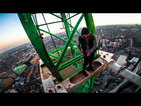 escaping from police (south london crane climb) - UC88oKpyXNid09t1m_PZlvfQ