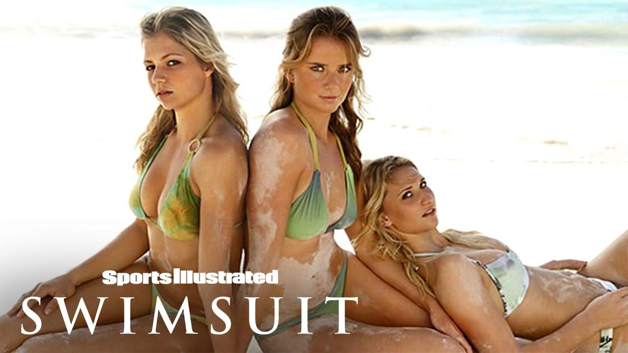 Maria Kirilenco, Tatiana Golovin & Daniela Hantuchova, Russian Tennis   Sports Illustrated Swimsuit
