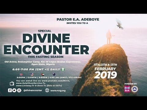 RCCG 2019 SPECIAL DIVINE ENCOUNTER DAY 1