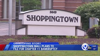 ShoppingTown Mall plans to file for Chapter 11 bankruptcy