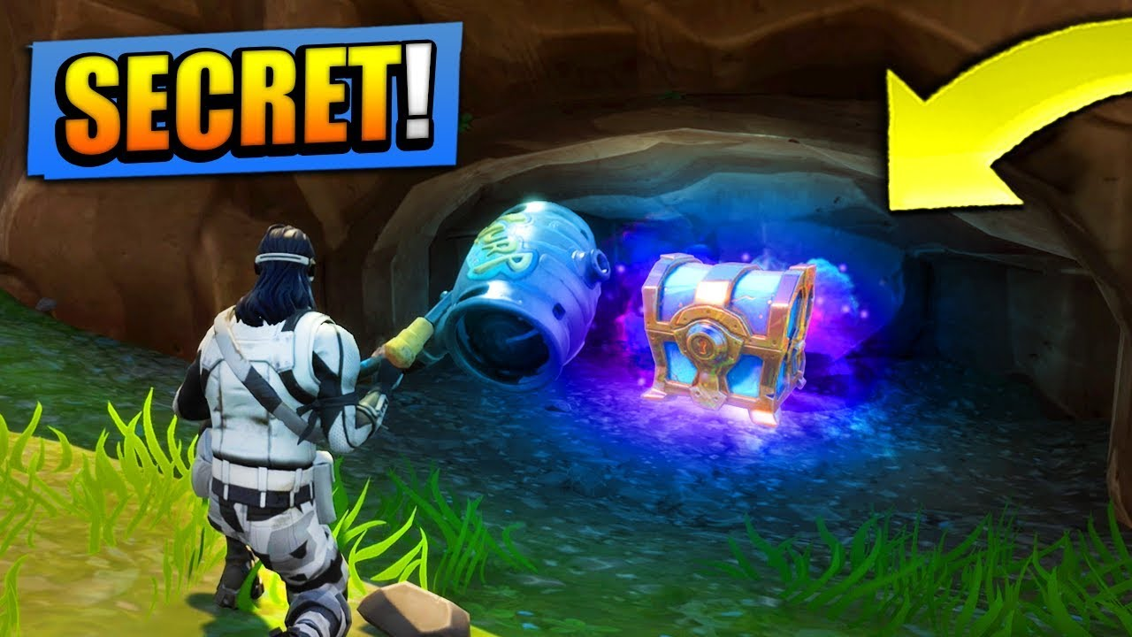 Secrets Chests Found In Fortnite Battle Royale