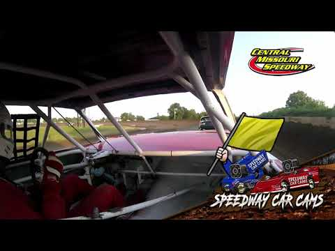 #79 Austin Story - Pure Stock - 7-4-2021 Central Missouri Speedway - In Car Camera - dirt track racing video image