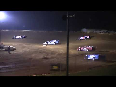 The Late Model Feature from Midway Speedway Near Crooksville, Ohio on 8-8-2020. www.OVDTR.com - dirt track racing video image