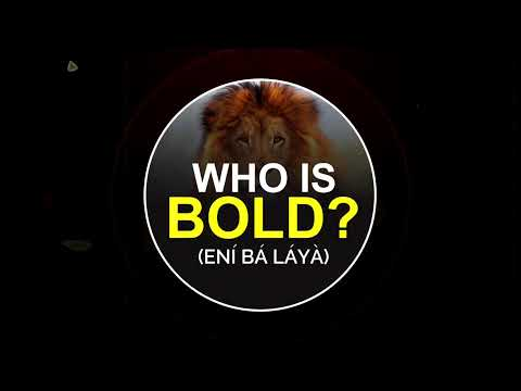 WHO IS BOLD? (N B LY) 2021 - ANNUAL MARATHON FASTING  DAY 1 - VIGIL  4TH JANUARY, 2021.