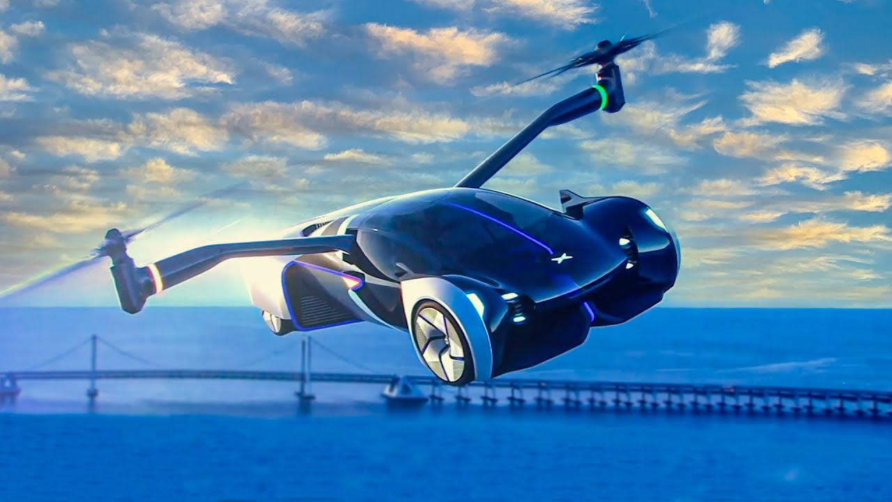 New FLYING CAR Xpeng HT Aero (2024) Car Helicopter Hybrid