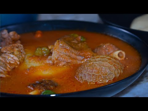 How to prepare goat light soup | aponkye nkrakra like it is from your favorite joint.