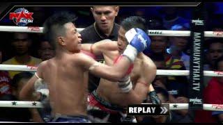 กิ่งซางเล็ก ส.สมบัติ VS เพชรตาเสือ ส.วังเสือ  Max Muay Thai The Global Fight 2019 #ไม่เซ็นเซอร์ คู่1