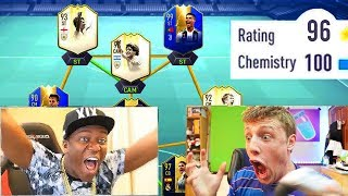 196 RATED!! - TOP YOUTUBER 196 FUT DRAFT!! ft W2S, AnEsonGib, xDuttinho & more (FIFA 19)
