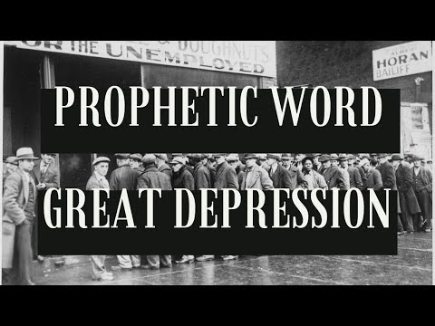 Prophetic Word: Great Depression