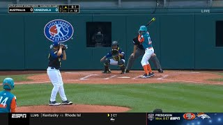 LLWS 2019 Elimination Game | Australia vs Venezuela | 2019 Little League World Series Highlights