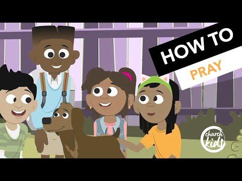 ChurchKids - How To Pray