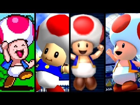 Super Mario Evolution of TOAD'S VOICE 1994-2017 (Switch to