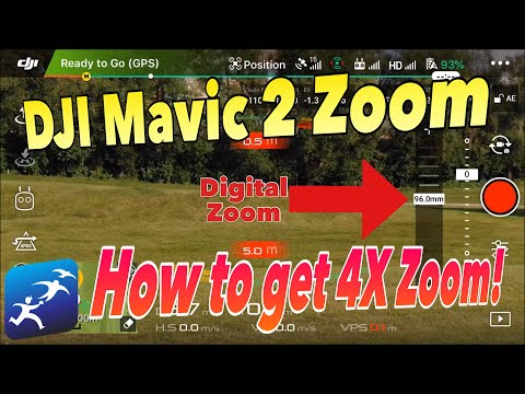 How to enable Digital Zoom on the DJI Mavic 2 Zoom – 4x ZOOM - UCzuKp01-3GrlkohHo664aoA