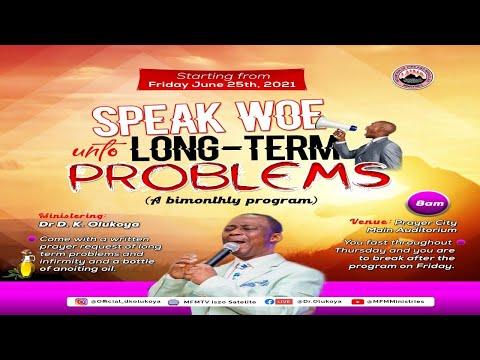 MFM Speak Woe Unto Long-Term Problems June 25,  2021