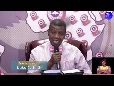 PASTOR E.A ADEBOYE RCCG MAY 1ST 2020 SERMON  LET THERE BE LIGHT 5