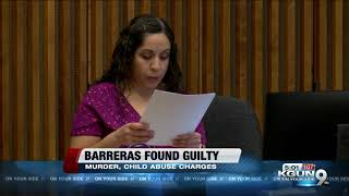 Martin Barreras found guilty of starving son to death