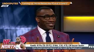 Chris Haynes GRIEVANCES: Does Kawhi deserve all the credit for Raptors win? | Undisputed