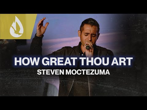 How Great Thou Art (Hymn)  Acoustic Worship Cover by Steven Moctezuma