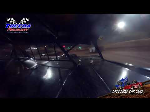 #33D Drake Roberts - 602 Chargers - 10-23-21 Toccoa Raceway - In-Car Camera - dirt track racing video image