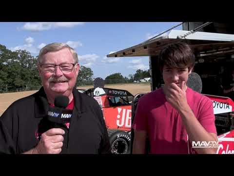 9.5.21 POWRi Pit Walk at Lake Ozark 360 Nationals - dirt track racing video image