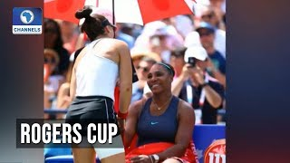 Andreescu Wins Title As Serena Retires Injured