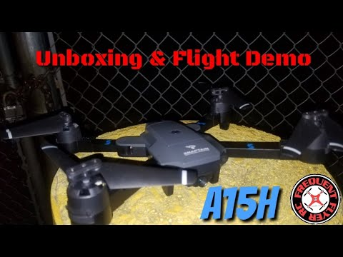 Snaptain A15H Unboxing & Demo (Day and Night Flights - UCNUx9bQyEI0k6CQpo4TaNAw