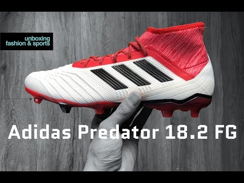 pretty nice 45531 a4621 Adidas Predator 18.2 FG  Cold Blooded Pack    UNBOXING   football boots    2018   4K