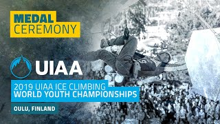 Oulu, Finland l Medal Ceremony l 2019 UIAA World Youth Championships
