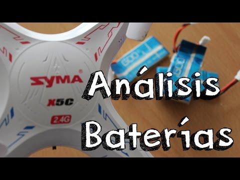 ANALISIS BATERIAS SYMA X5C ESPAÑOL: Ampliar baterias del mejor quadcopter / drone calidad precio - UCKm3YE3okl4ZlRQAZcJcLcw