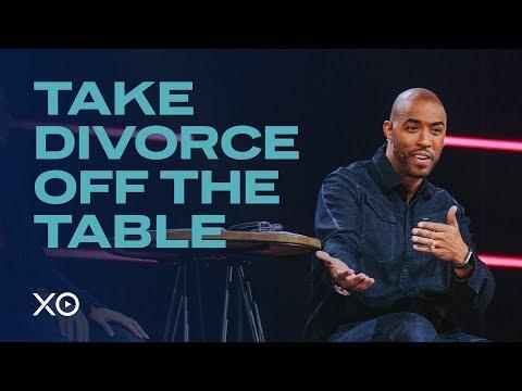 Take Divorce Off The Table  Montell & Kristin Jordan