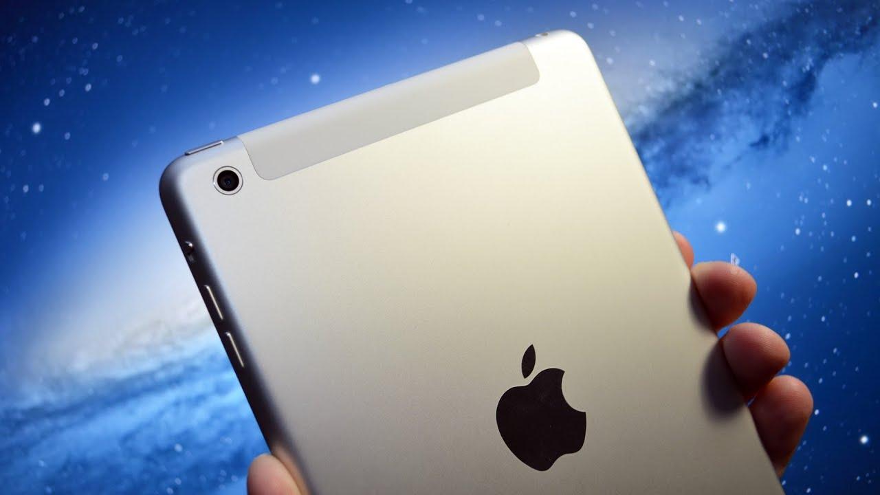 Apple Ipad Mini Wifi Cellular Lte 4g Unboxing Speed Demo 16gb Black