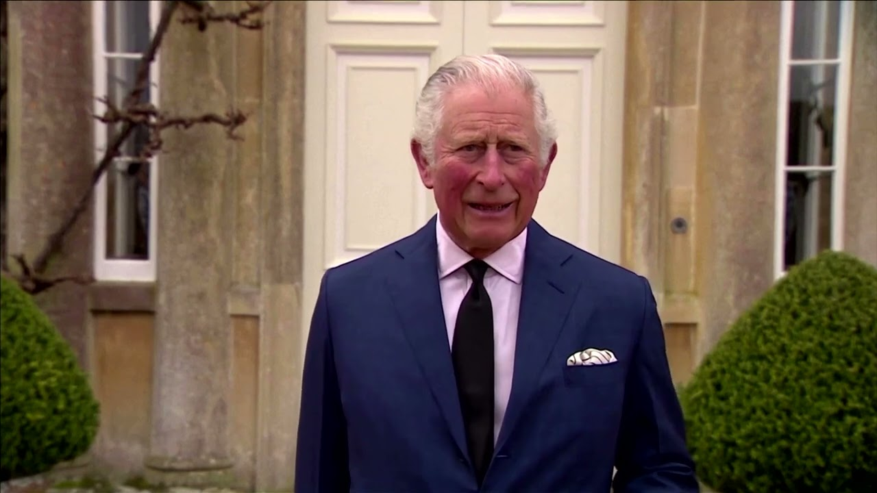 Prince Charles pays tribute to his father