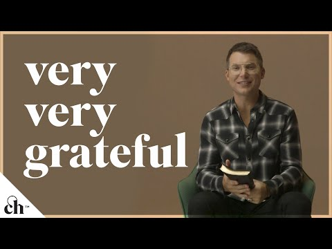 Very, Very Grateful // Judah Smith