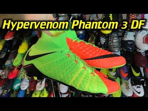 Nike Hypervenom Phantom 3 DF (Radiation Flare Pack) - One Take Review + On Feet - UCUU3lMXc6iDrQw4eZen8COQ