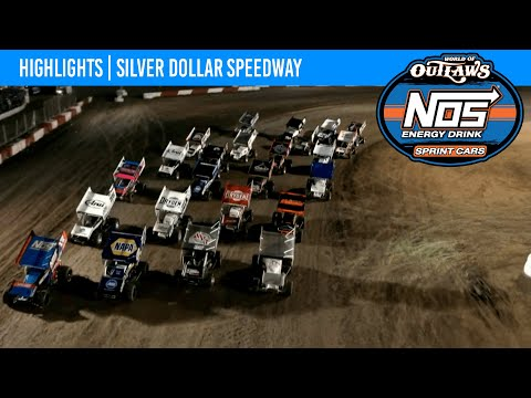 World of Outlaws NOS Energy Drink Sprint Cars Silver Dollar Speedway, September 10, 2021 HIGHLIGHTS - dirt track racing video image